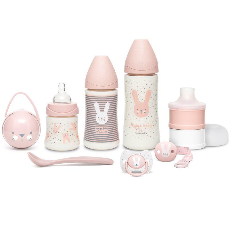 Set Completo Suavinex Hugge Baby - Rosa