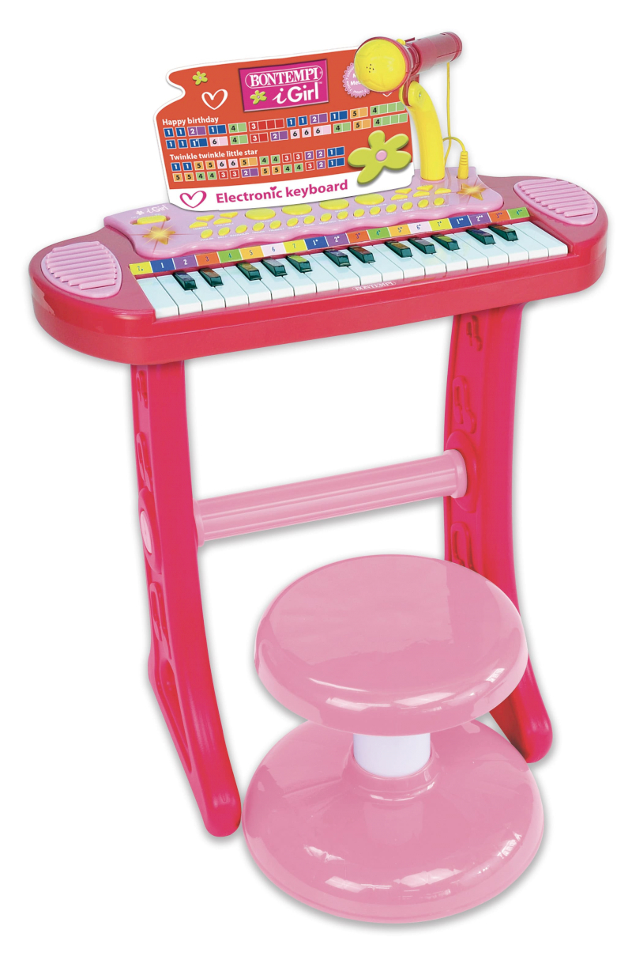 copy of Pianola con Micrófono Barbie