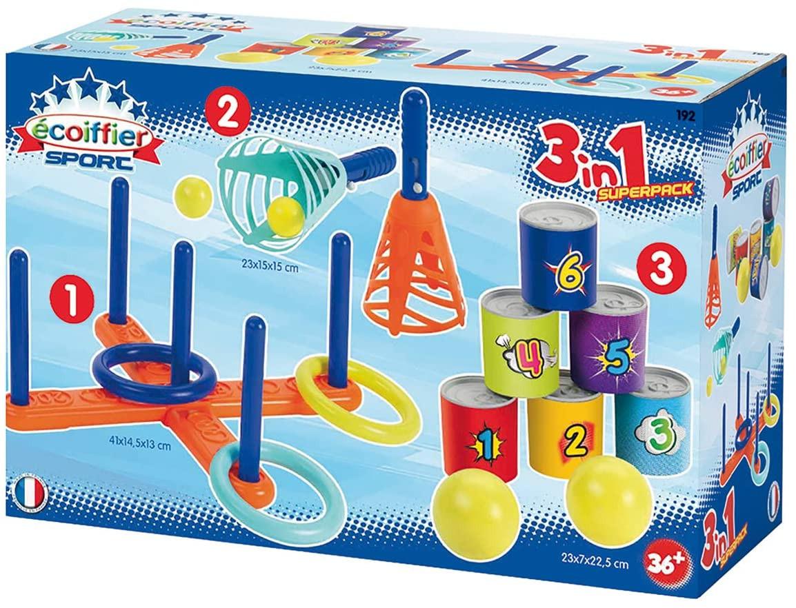 Conjunto de 3 juegos para niños