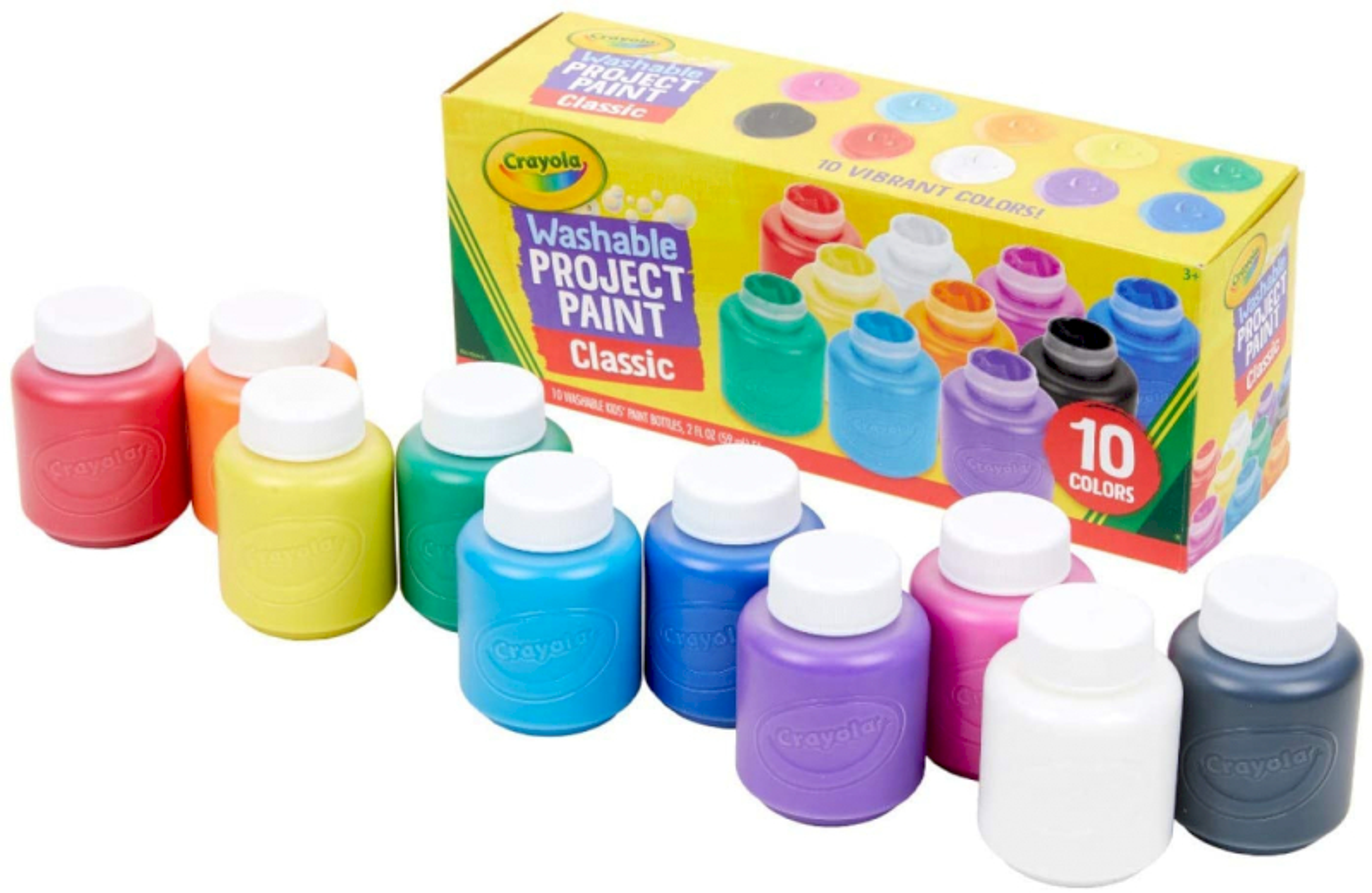 10 Tempere Lavabilissimi Crayola