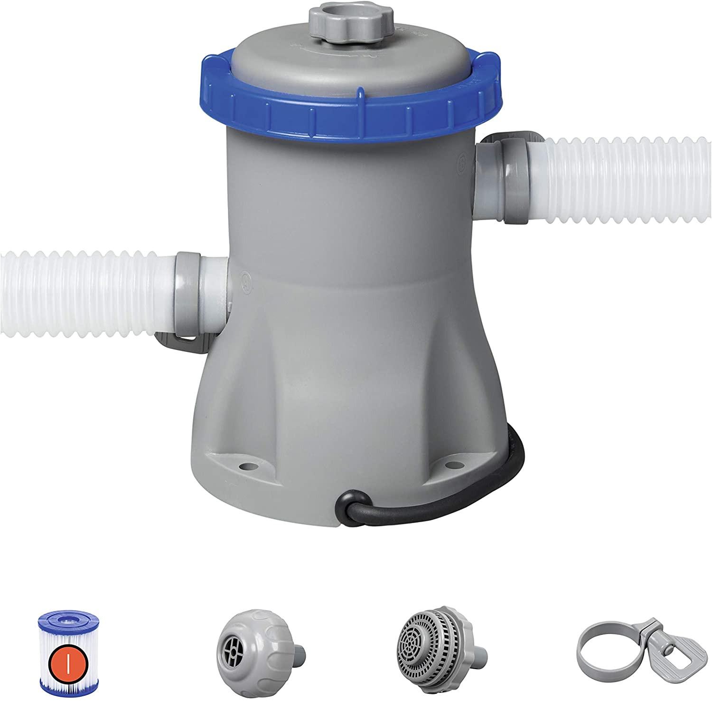 Pompe de filtration à cartouche pour piscines hors terre