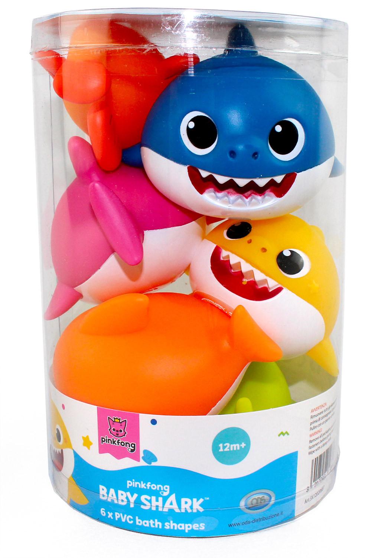 Personaggi Baby Shark per il Bagnetto