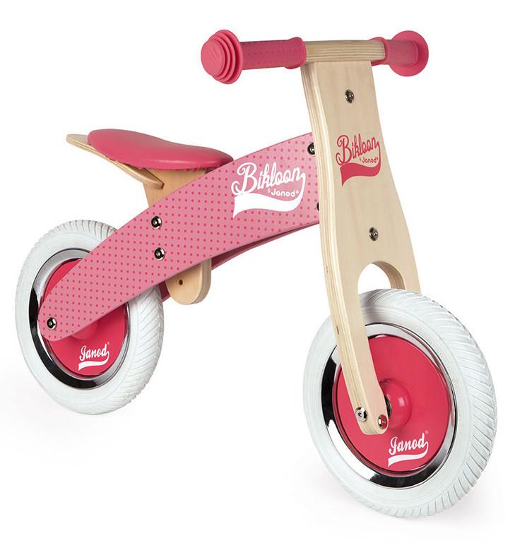 Vélo d'équilibre Bikloon - Rose
