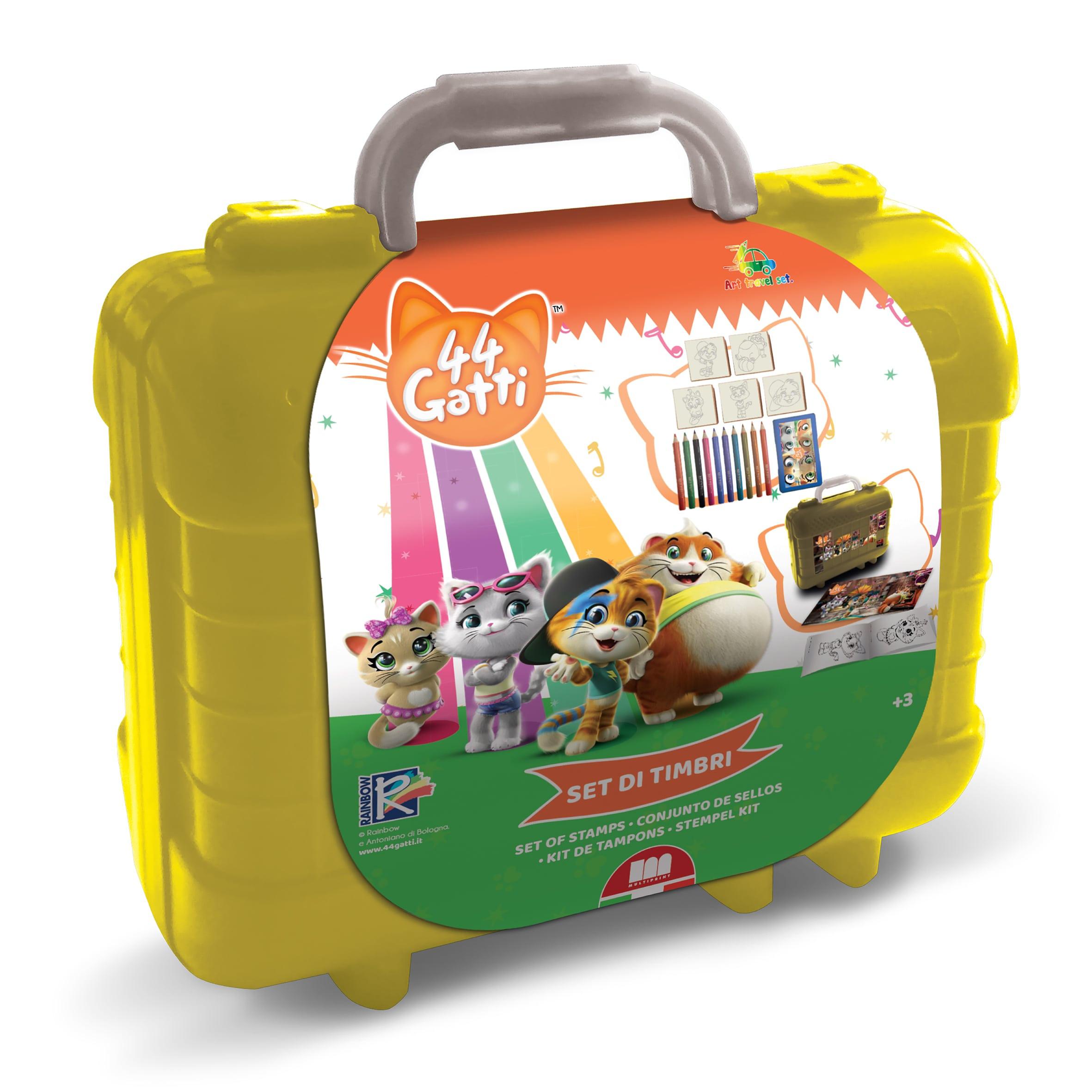 Travel Set con colori 44 Gatti