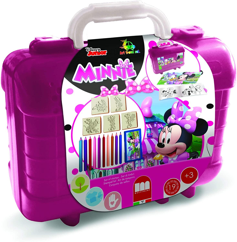 Travel Set con colori Minnie