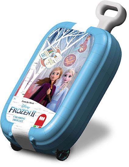 Trolley con colori di Frozen