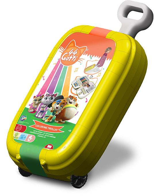Trolley con colori dei 44 Gatti