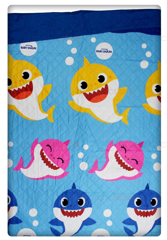 Trapuntino Singolo - Baby Shark