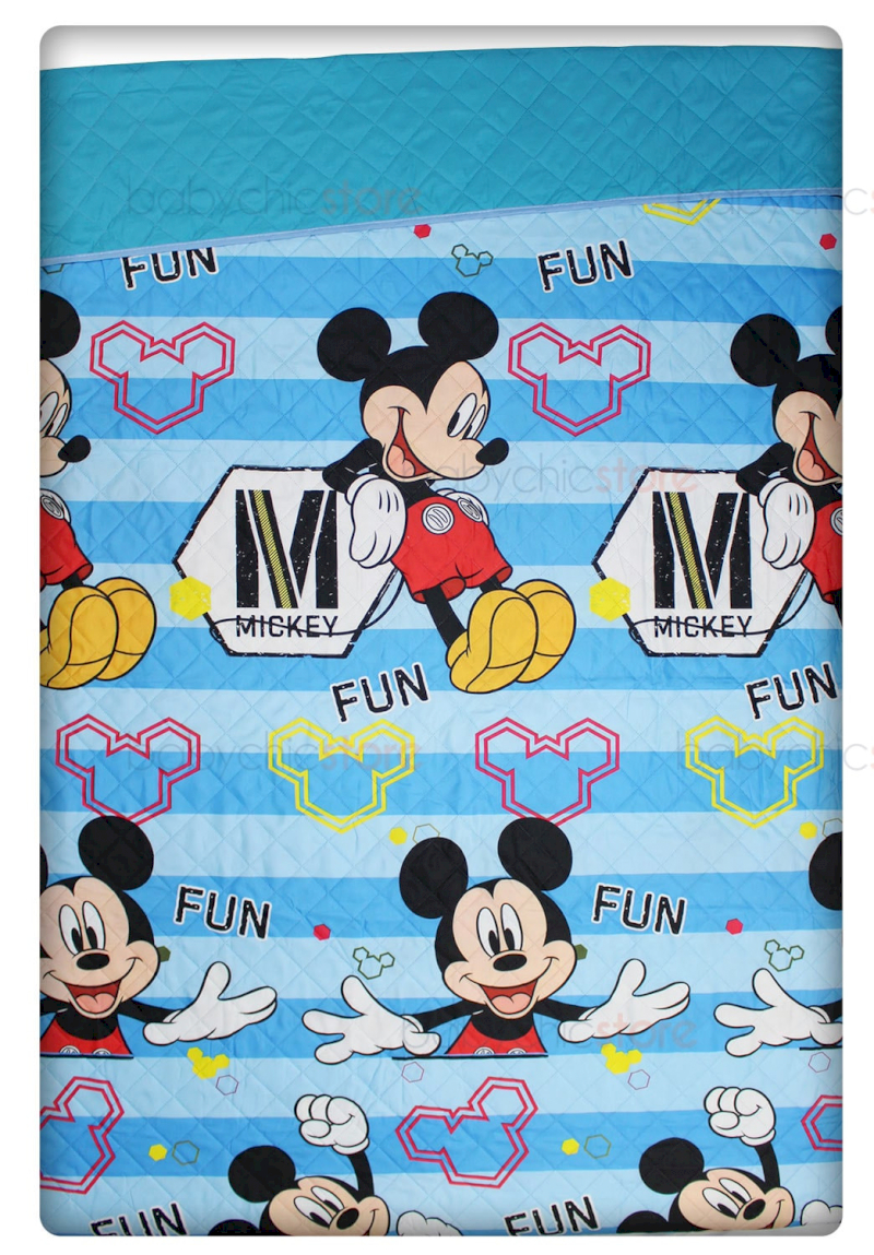 Courtepointe simple - Mickey Mouse