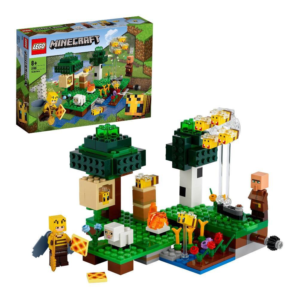 Construction La ferme d'abeilles Minecraft