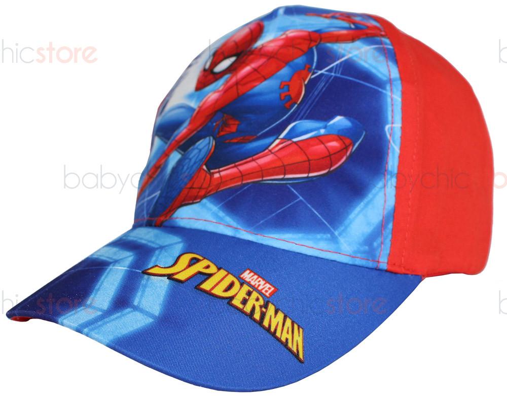 Cappellino con Visiera di Spiderman