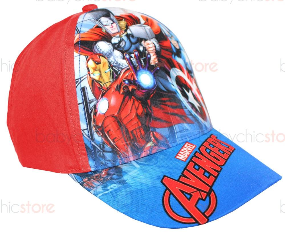 Casquette Avengers avec visière - Rouge