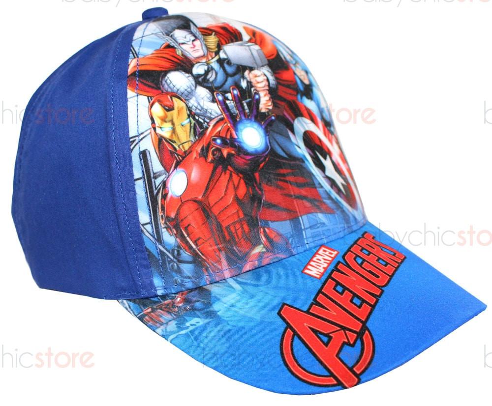 Casquette Avengers avec visière - Bleu