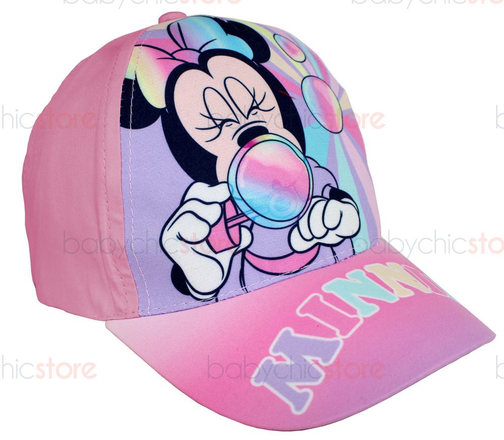 Casquette Minnie Mouse avec Visière - Bulles de Savon Rose