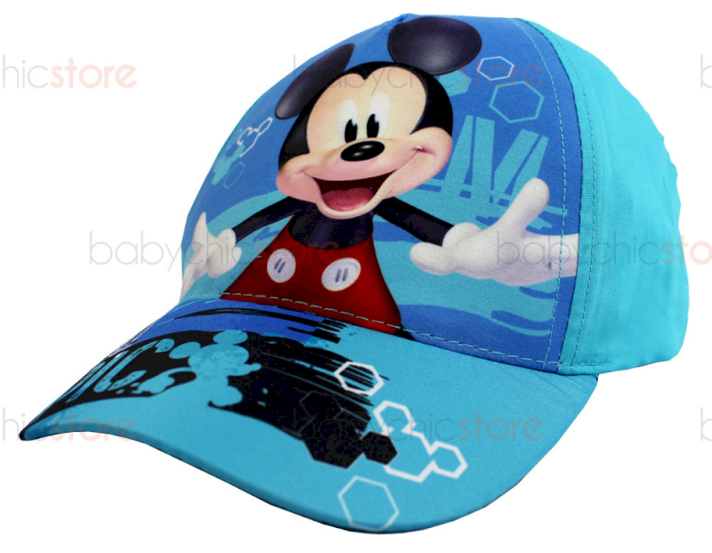 Casquette Mickey Mouse avec Visière - Bleu Clair