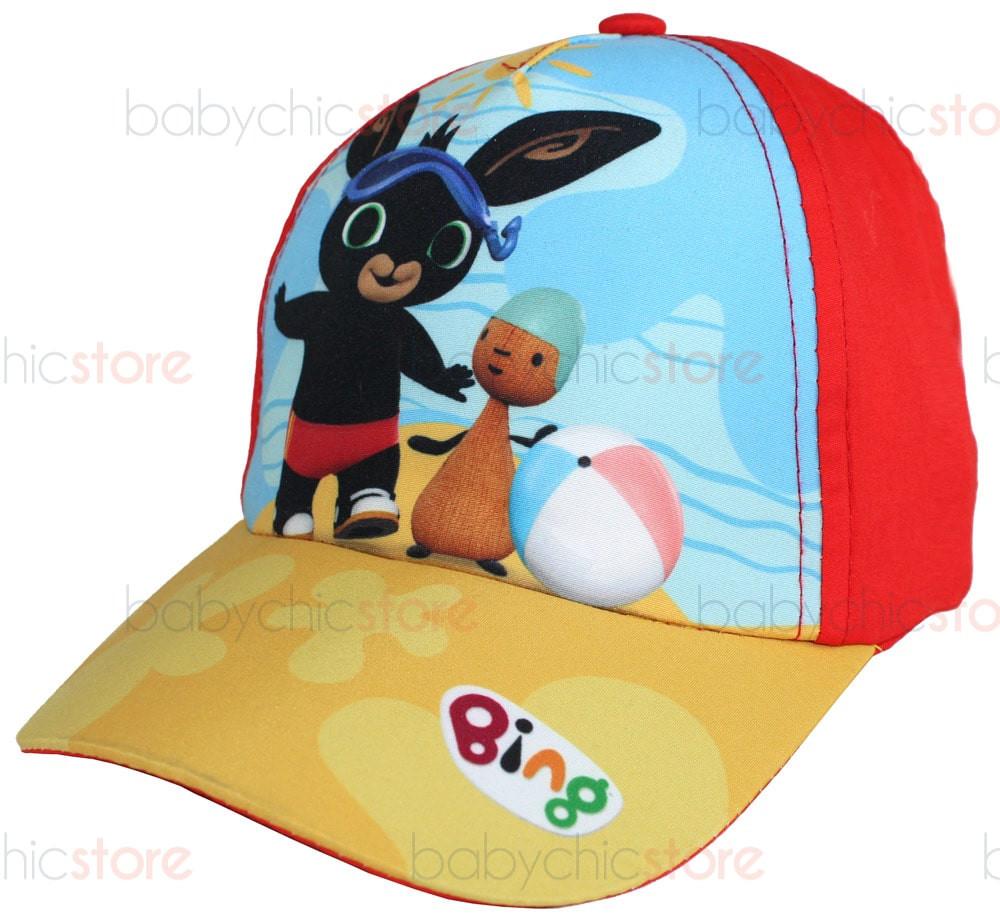 Cappellino con Visiera di Bing - Rosso