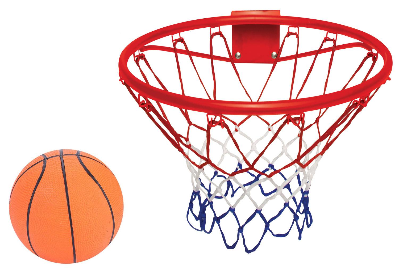 Panier de basket avec ballon gonflable