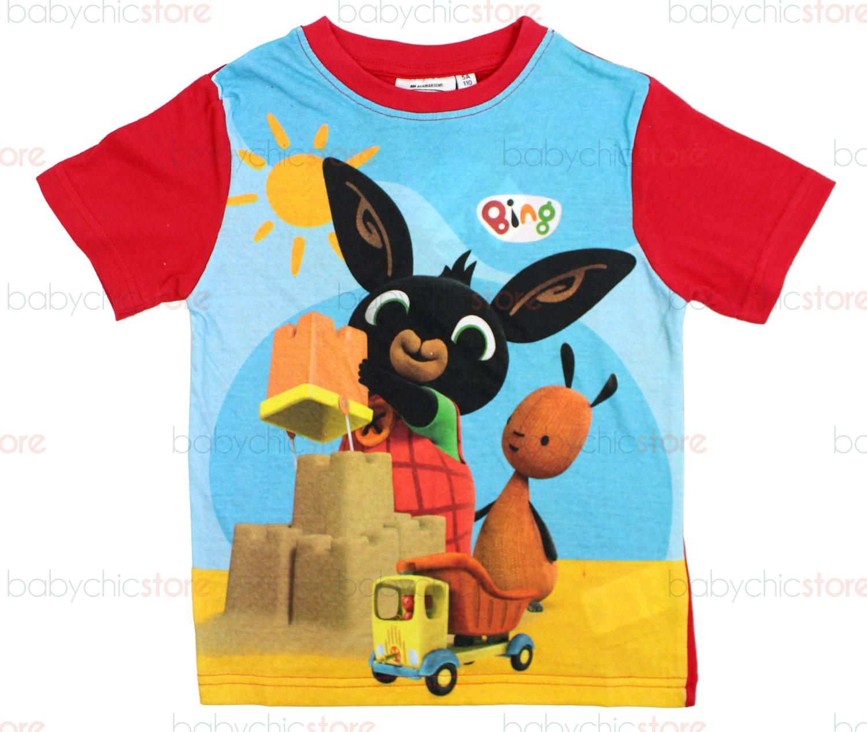 T-Shirt Bing Rossa - 4 Anni