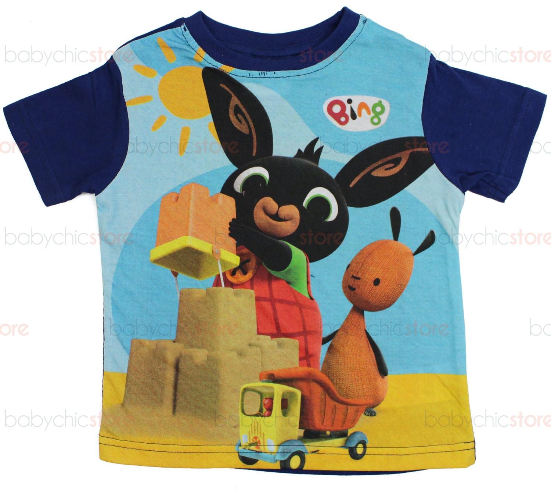 T-Shirt Bing Blu - 4 Anni