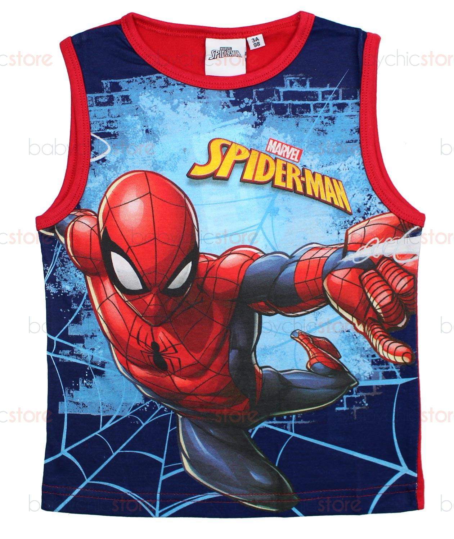 Canotta Spiderman Rossa - 6 Anni
