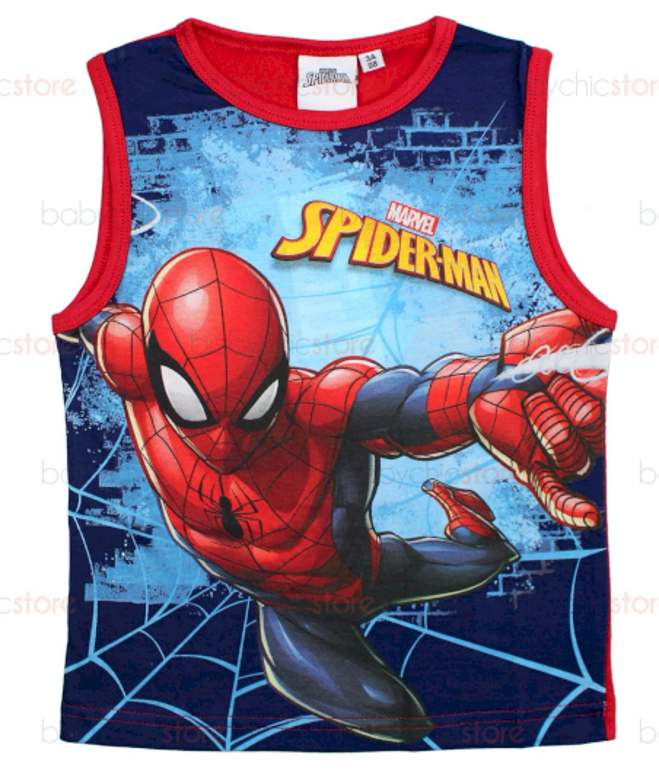 Canotta Spiderman Rossa - 8 Anni