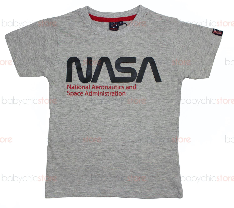 T-Shirt NASA Grigia - 6 Anni