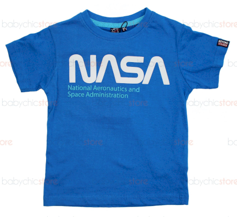 T-Shirt NASA Azzurra - 4 Anni