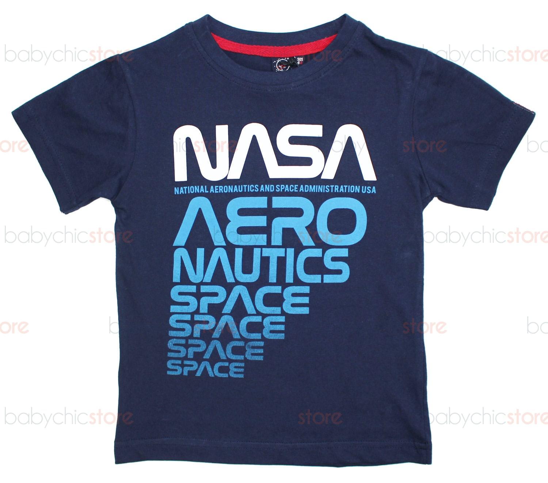 T-Shirt NASA Blu - 4 Anni