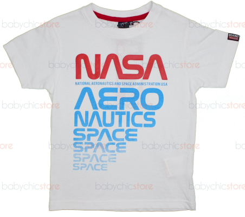 T-Shirt NASA Bianca - 4 Anni