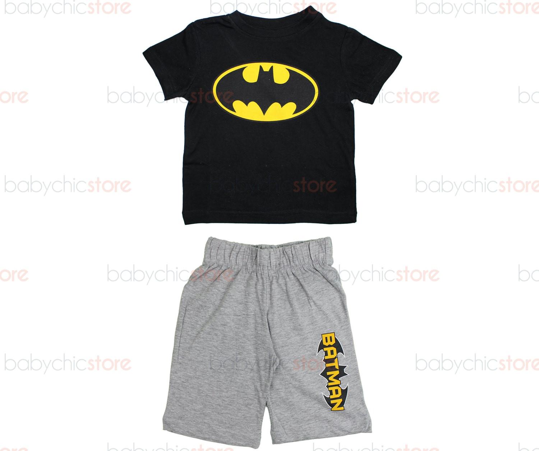 Completo Batman Nero - 3 Anni