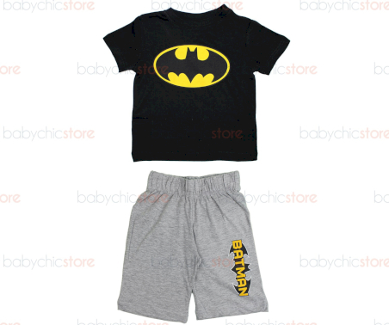 Completo Batman Nero - 8 Anni