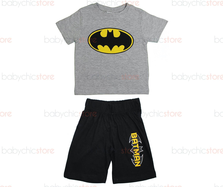 Completo Batman Grigio - 8 Anni