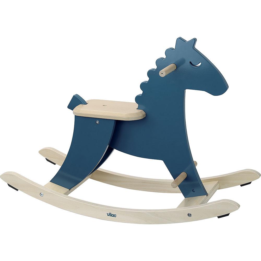 Chaise berçante Calvcabile - Cavallo Blue