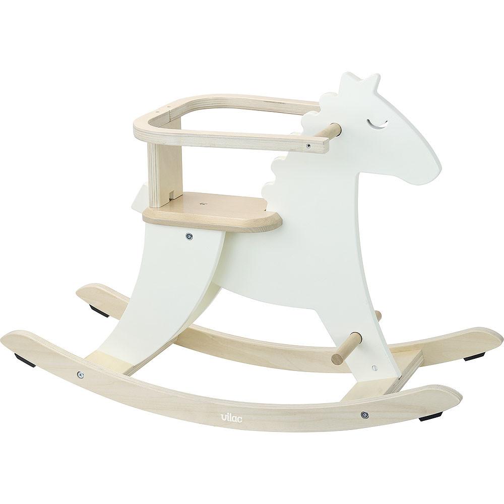 Chaise berçante - White Horse
