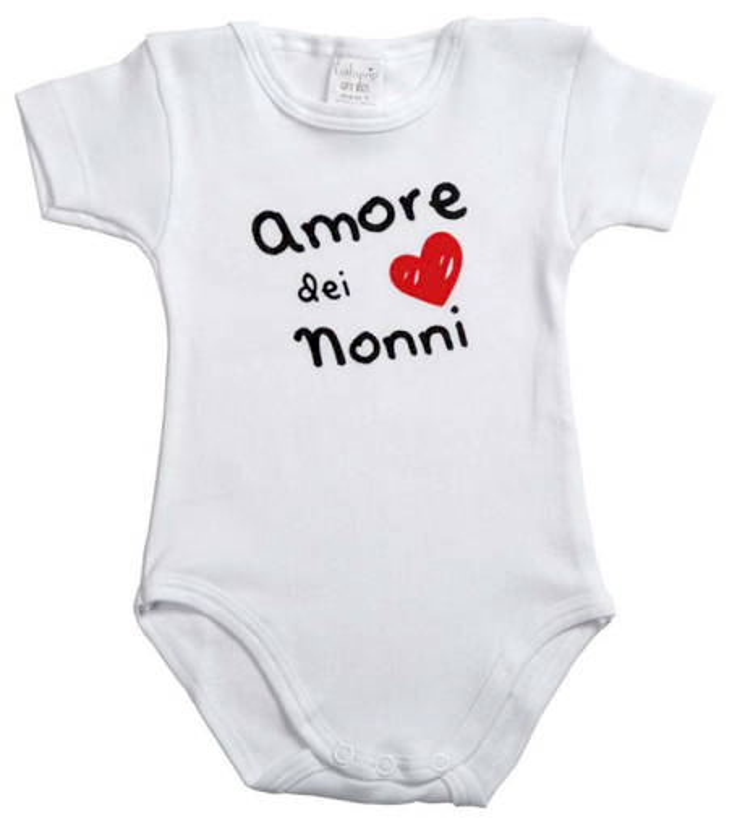 Body Neonato Amore dei Nonni - 3 Mesi
