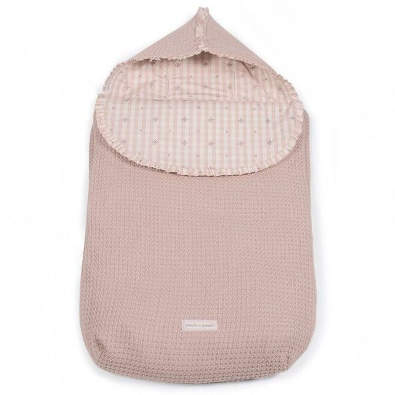 Bolsa Porta Bebé y Capazo 3 en 1 Yummy Pink