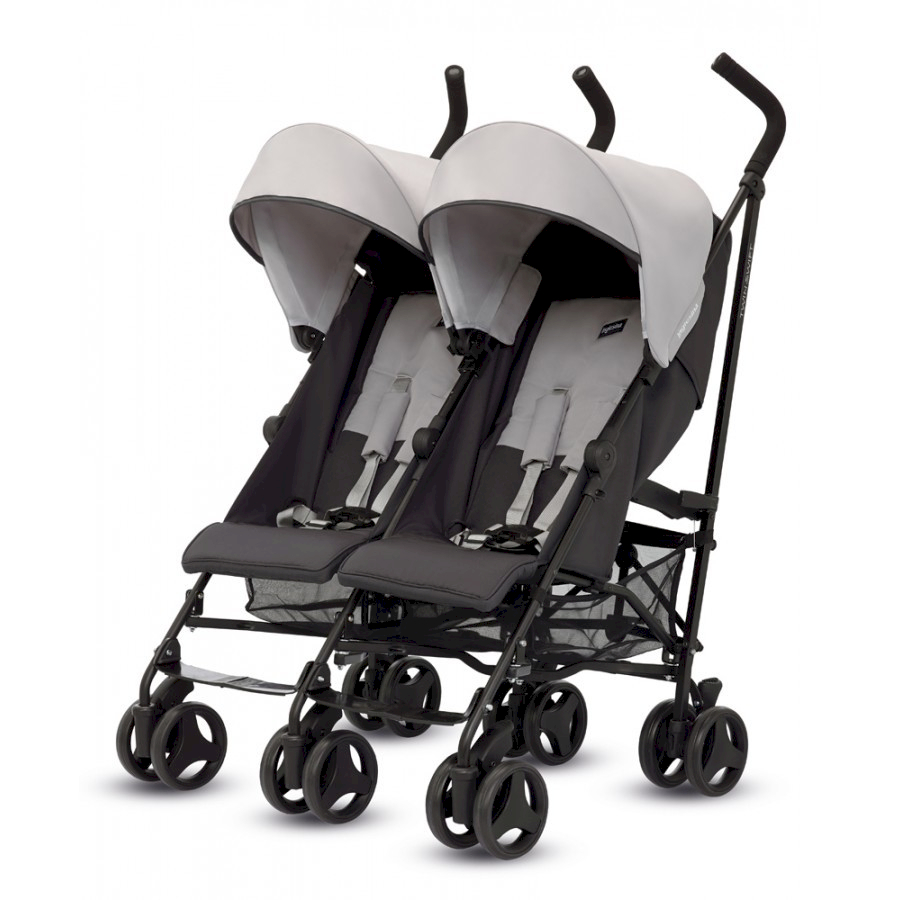 Inglesina Zwillingskinderwagen Twin Swift Graphite