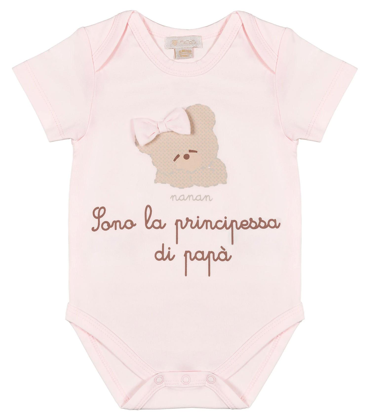 Body Neonato Sono la Principessa di Papà Nanan - 1 Mese