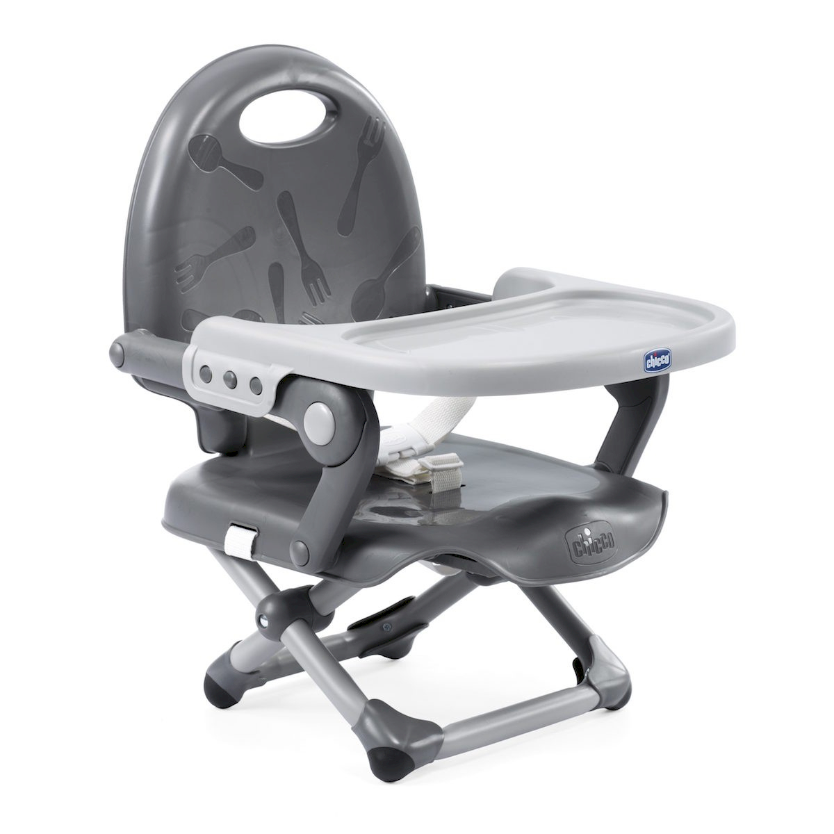 Réhausseur de Chaise Pocket Snack Chicco Grey