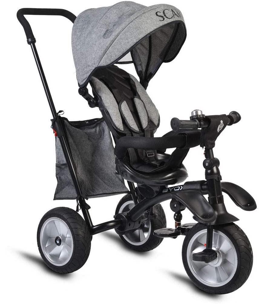 Triciclo Multifunzione Scar - Dark Gray