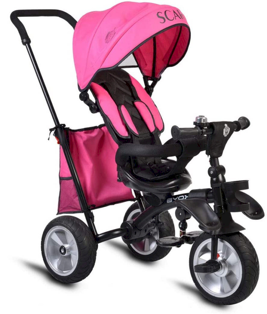 Triciclo Multifunzione Scar - Pink