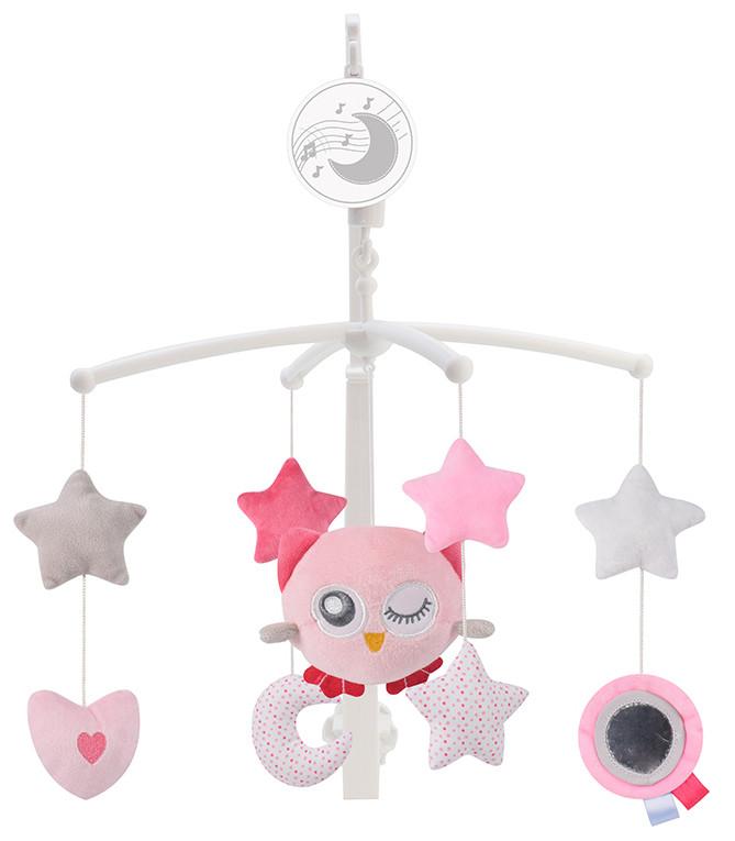 Mobile de lit Dreamy - Rose