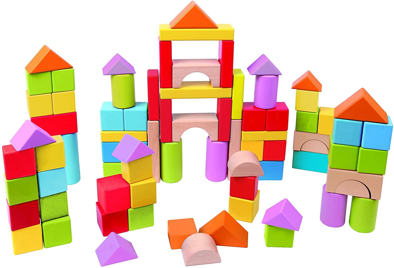 101 Blocchi di Costruzioni in Legno - Hape