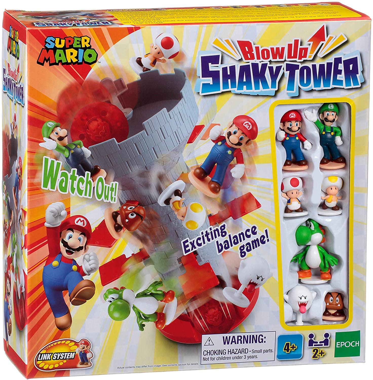 Blow Up Shaky Tower Super Mario Bross