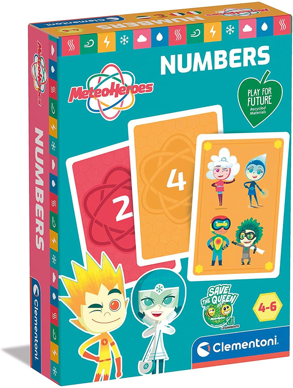 Numeri con le Carte Meteo Heroes