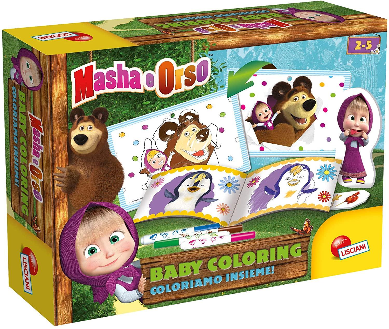 Masha e Orso - Coloriamo Insieme