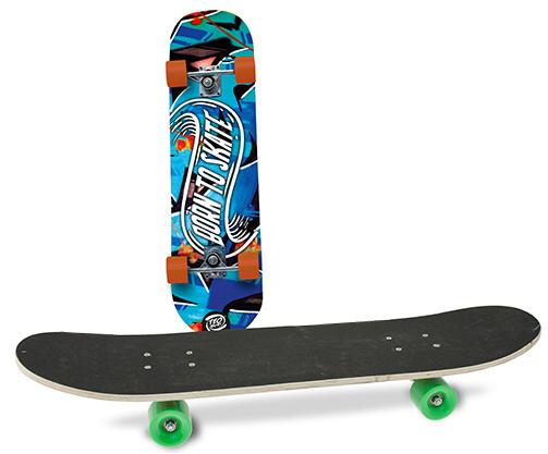 Skateboard per Bambino - Deck in Legno - Versione 2