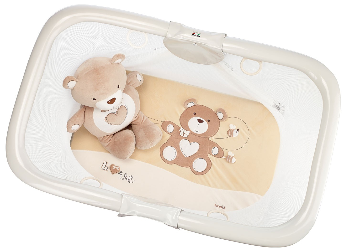 Brevi Laufgitter Circus Soft & Play My Little Bear