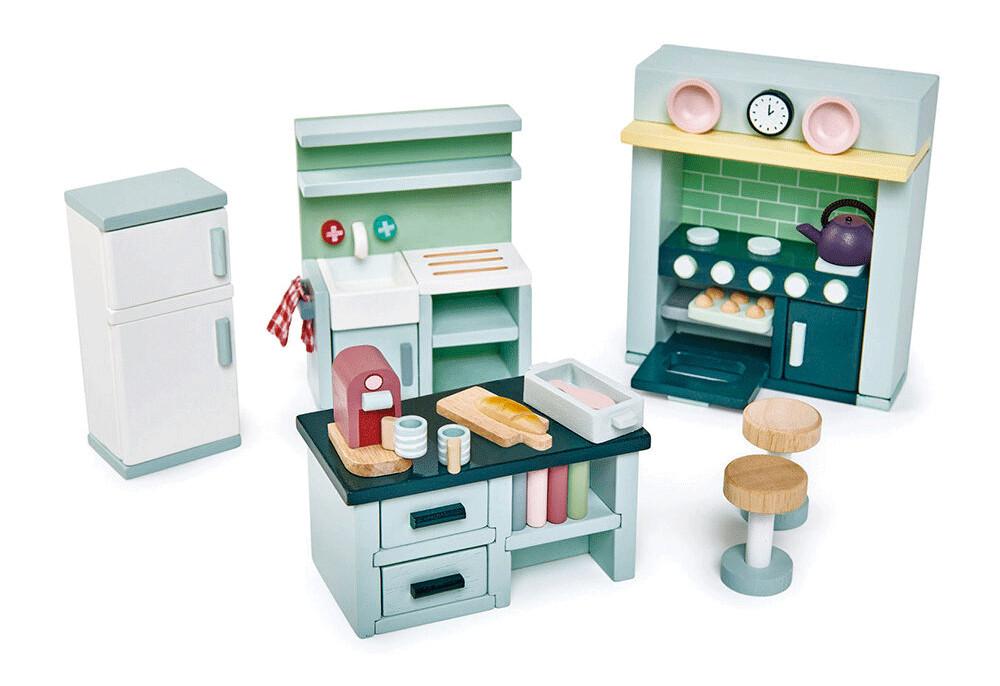 Set di Mobili per la Casa delle Bambole