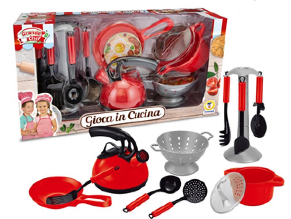 Grande Chef Gioca In Cucina